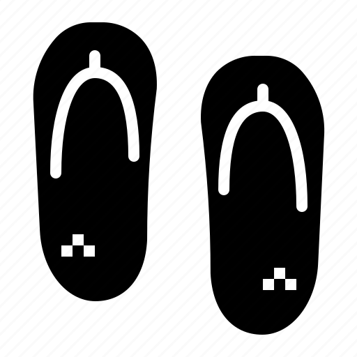 Flip, flops, footwear, shoes, slippers icon - Download on Iconfinder