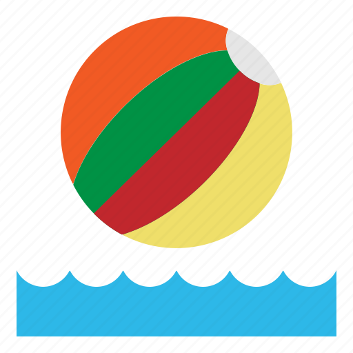 ball, beach, play, summer, toy icon