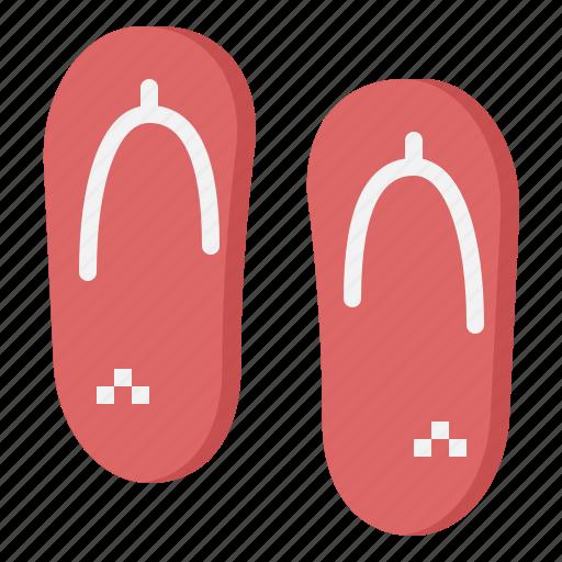flip, flops, footwear, shoes, slippers icon