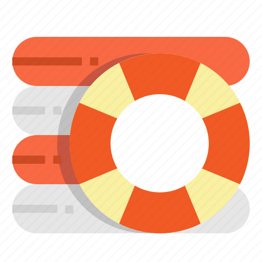 buoy, life, rescue, safety, saver icon