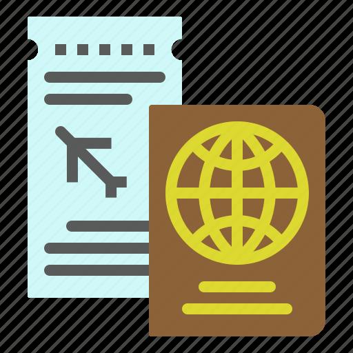 Document, id, passport, ticket, travel icon - Download on Iconfinder