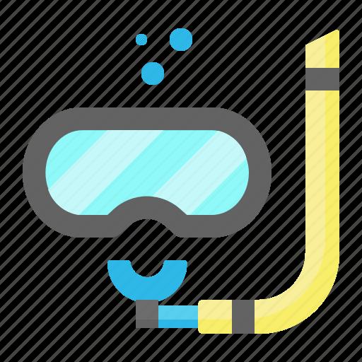 Dive, scuba, snorkel, sport, summer icon - Download on Iconfinder