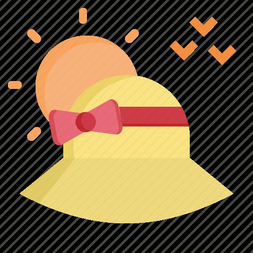 Beach, garden, hat, summer, sun icon - Download on Iconfinder