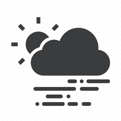 Cloud, cloudy, forecast, sun, sunny, weather icon - Download on Iconfinder