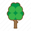 forest, nature, summer, tree icon