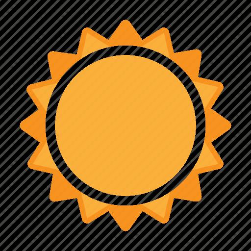 summer, sun, sunlight, weather icon