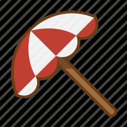 beach, holiday, summer, umbrella icon