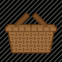 basket, holiday, picnic, summer, vacation icon
