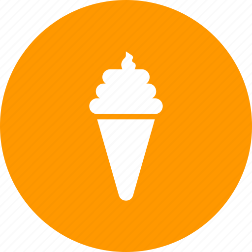 cold, cone, cream, ice, kids, summer, sweet icon