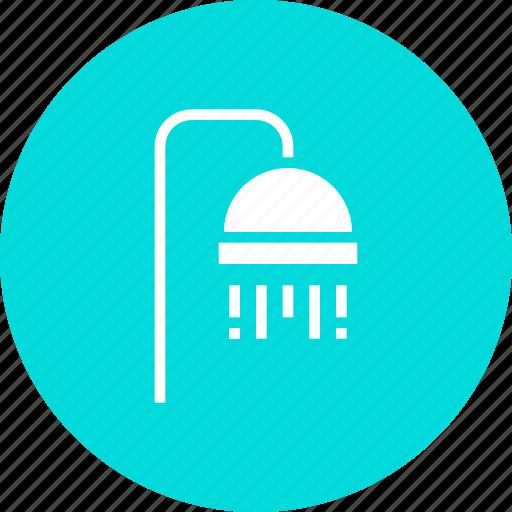 bath, bathroom, hotel, relax, shower, summer icon
