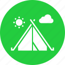 camp, camping, hiking, holiday, outdoors, tent, vacation