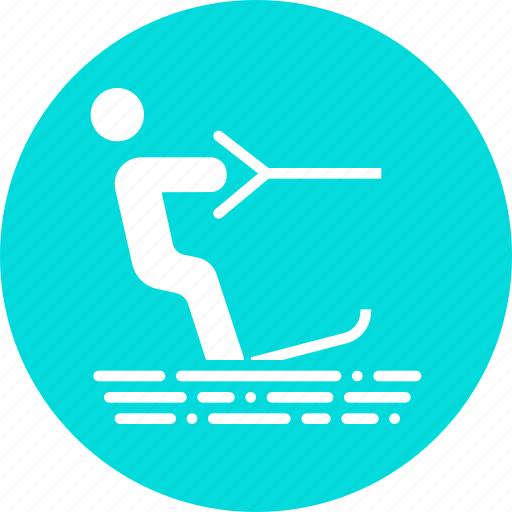 holiday, skiing, sports, surfing, vacation, wakeboarding, water icon