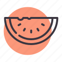 fruit, juicy, melon, summer, sweet, water icon