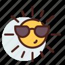 solar, sun, weather icon