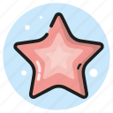 ocean, sea, star, summer icon