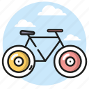 bicycle, bike, ride, summer, tourism icon