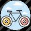 bicycle, bike, ride, summer, tourism icon