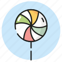 candy, lollipop, summer, sweets icon