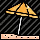 beach, holiday, summer, travel, umbrella, vacation icon