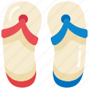 flip, flops, footwear, beach, shoes, sandal