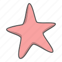 star, starfish icon