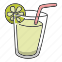 alcohol, cocktail, drink, lime, tea, water icon
