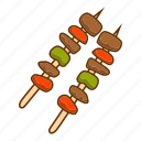 barbecue, food, grill, meat, steak icon