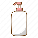 bottle, cream, lotion icon