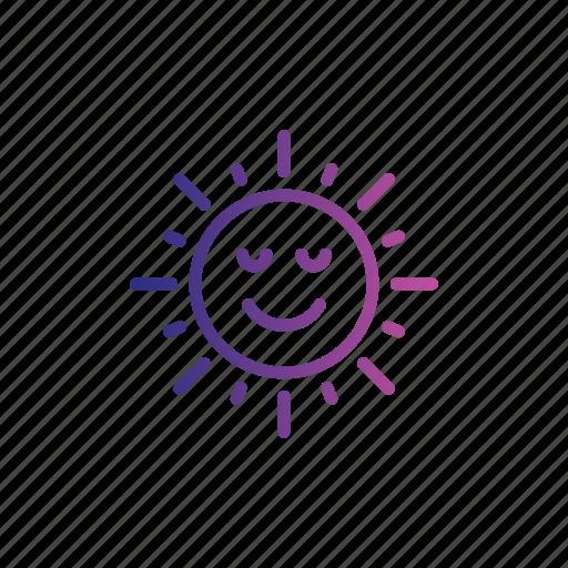 atomsphere, nature, shine, summer, sun, sunny icon