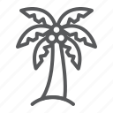 palm, tree, coconut, tropical, tourism, travel, nature
