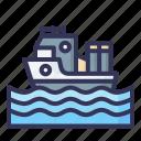 ship, vacation, summer, traveling, recreation, holiday