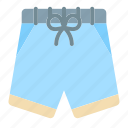 swimming, trunks, vacation, summer, traveling, recreation, holiday icon