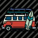 caravan, camping, trailer, transportation, summer, vehicle, transport