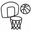 ball, basket, basketball, fun, game, sport, summer icon