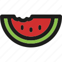 food, fresh, fruit, healthy, summer, watermelon icon