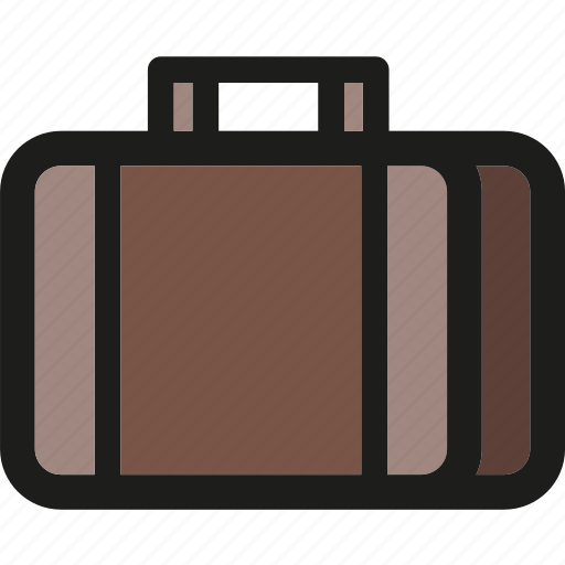 baggage, briefcase, luggage, suitcase, travel, vacation icon