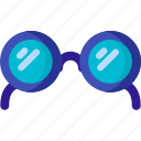 eye, glass, search, sunglasses, view, vision icon