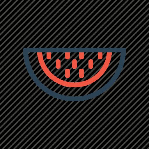 food, fruit, healthy, juice, piece, sweet, watermelon icon
