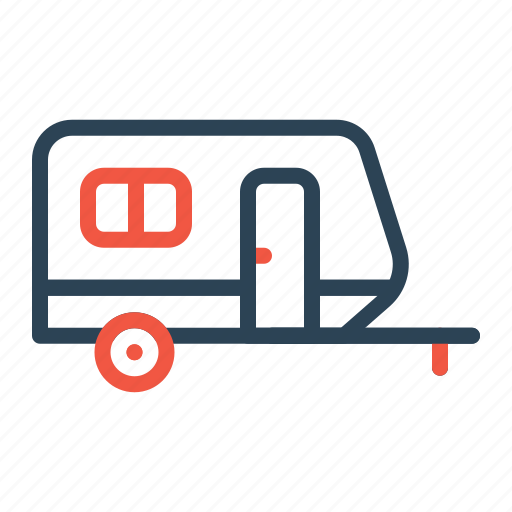 handhome, home, house, movable, portable, trolley icon