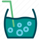 beverage, cup, drink, fresh, mojito icon