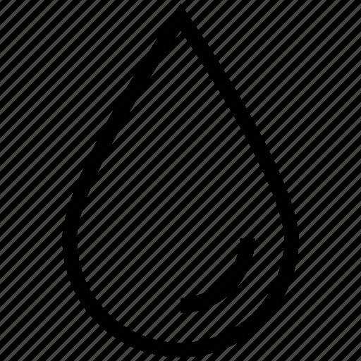 drop, droplet, water drop icon