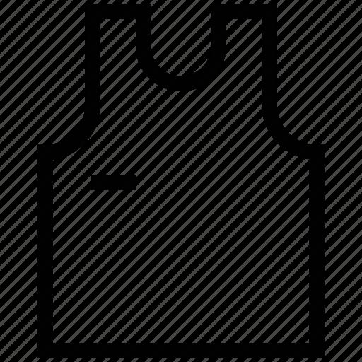 sleeveless shirt, tank top, top, vest icon