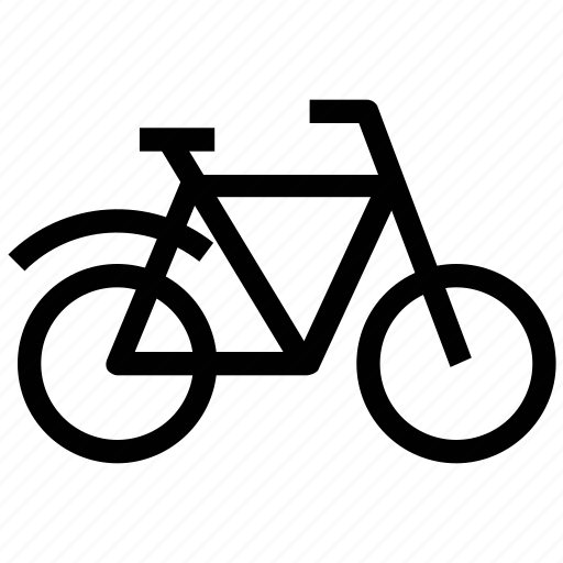 bicycle, cycle, mountain cycle, pedal cycle icon