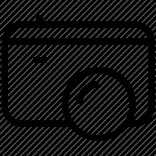 camera, digicam, digital camera, photography icon