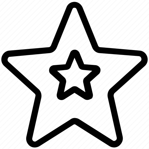 favourite, star, starfish icon
