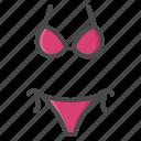 bikini, holiday, summer, swimsuit icon