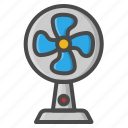 electric, fan, holiday, propeler, summer icon