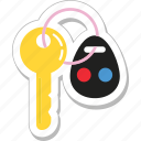 key, lock key, protection, room key, security icon