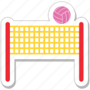 net, sports, volley net, volleyball, volleyball net icon
