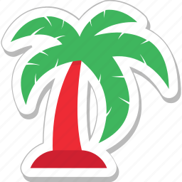 beach, coconut tree, forest, palm, palm tree icon
